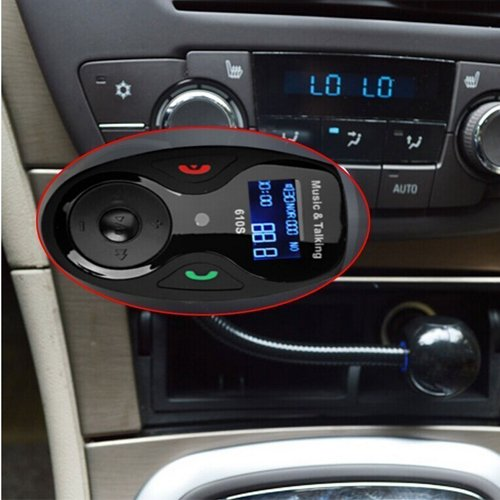 Aliexpress Com Buy Marsnaska High Quality Car Bluetooth Fm Music Receiver Car Bluetooth: VersionTech Univeral LCD Display Bluetooth Wireless Car MP3 FM Transmitter Modulator Radio