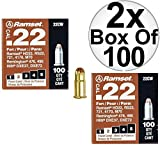 Ramset 22CW Boxes of 100#2''Brown'' .22 cal Single Shot Loads 2-Pack