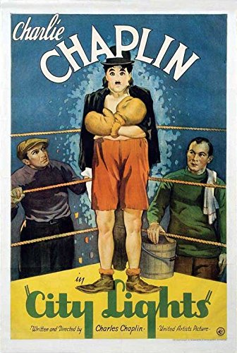 City Lights POSTER Movie (1931) Style D 11 x 17 Inches - 28cm x 44cm (Charlie Chaplin)(Virginia Cherrill)(Florence Lee)(Harry Myers) - Chaplin Movie Poster