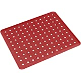 Grade de Pia Basic, 32,8 x 27,8 x 0,3 cm, Vermelho Bold, Coza