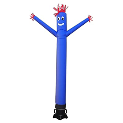 """20ft Advertising Inflatable Tube Man Blow Up Giant Waving Arm Fly Puppet Christmas Halloween Decorative Signs for Business Store Party Club-Designed for 18"""" Blower(Not Include): Sports & Outdoors"""