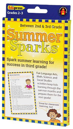 Summer Sparks Activity Cards, Between Grade 2 and Grade 3