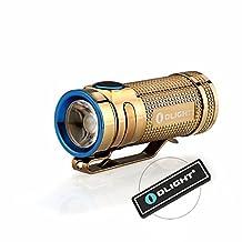 Bundle: Olight S MINI Baton Cree LED 550 Lumens CU / COPPER EDC Flashlight Brighter than S1 Baton Torch -only 9999 Pcs for Christmas Gift-with a Mini USB LED Light (Smini Copper PVD Edition)