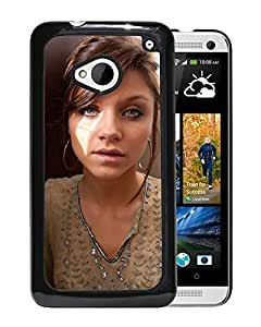 Beautiful Girl Cover Case For HTC ONE M7 With Cameron Intima Girl Mobile Wallpaper(2) Phone Case
