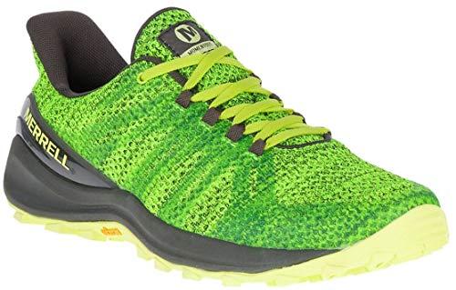 Merrell Men's Momentous Trail Running Shoes, 11.5 M, Lime Punch (Best Cushioned Trail Running Shoes 2019)