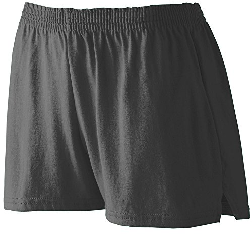 Women Discount (Augusta Sportswear WOMEN'S JUNIOR FIT JERSEY SHORT M Black)