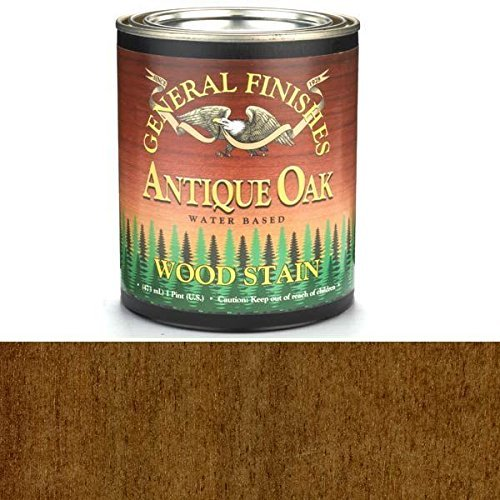 General Finishes WOPT Water Base Wood Stain, 1 pint, Anti...