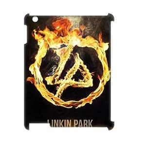 C-EUR Linkin Park Pattern 3D Case for iPad 2,3,4