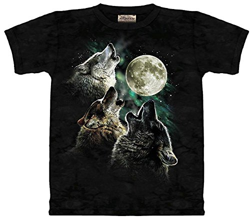 - Three Wolf Moon T-Shirt Size L