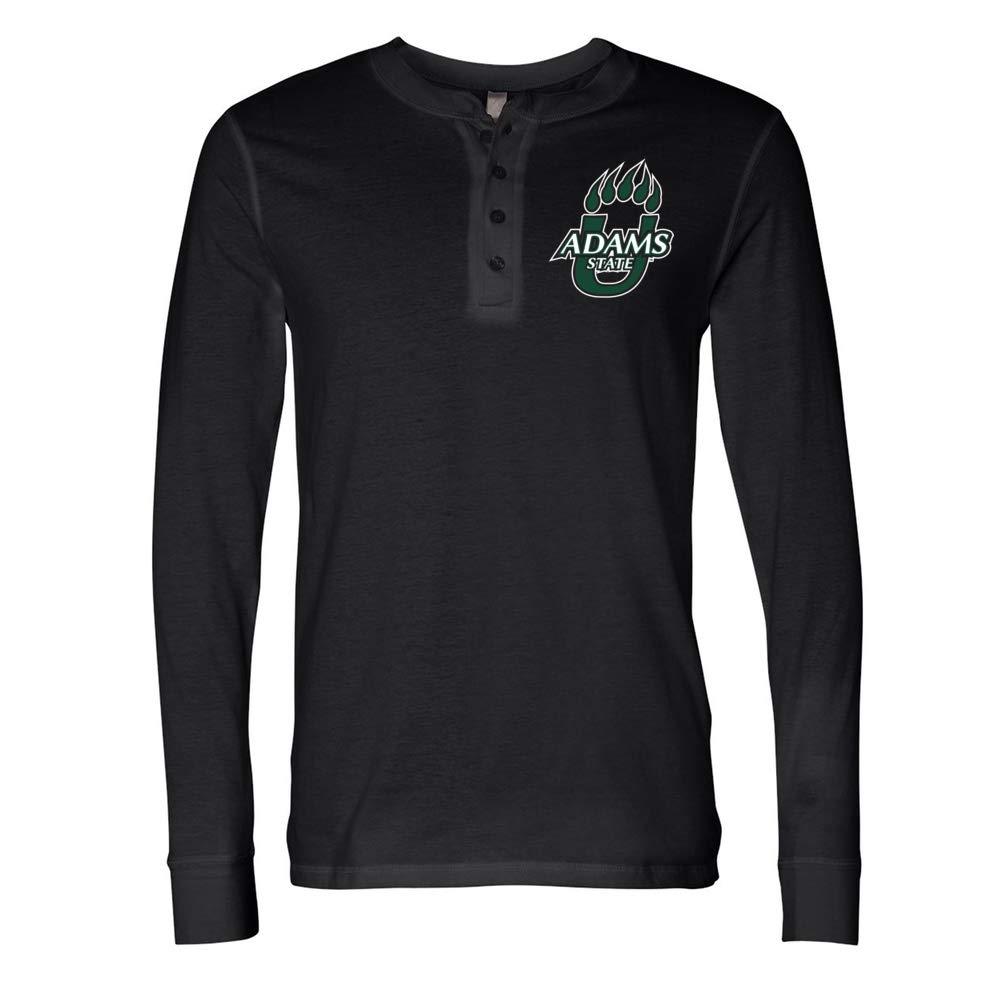 NCAA Adams State Grizzlies PPASU01 Mens Long Sleeve Jersey Henley