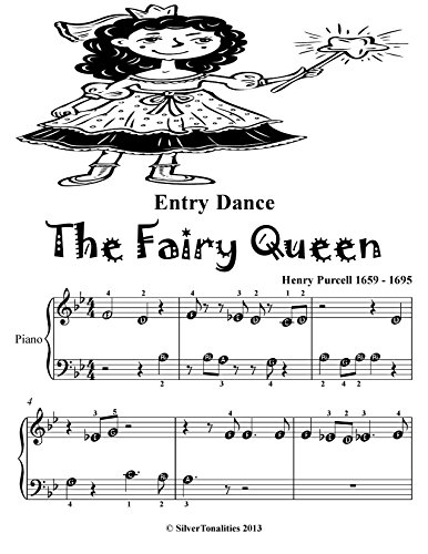 Entry Dance the Fairy Queen Beginner Piano Sheet Music Tadpole Edition