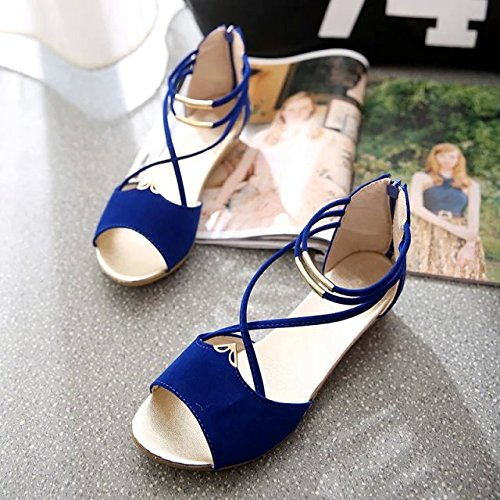 Dony Sandals, summer sandals, comfortable round head, simple low heel sandals Thirty-five