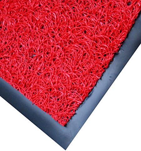 American Floor Mats Vinyl Mesh Heavy-Duty Entrance Black 4 x 20 Scraper Mat