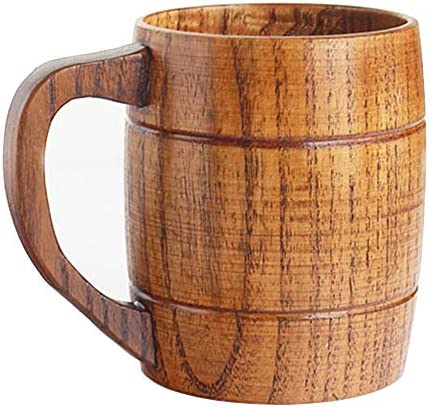 Wooden Handle Glasses Coffee Drinking product image