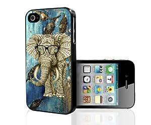 Elephant Island Backdrop Hard Snap On Case (iPhone 4/4s)