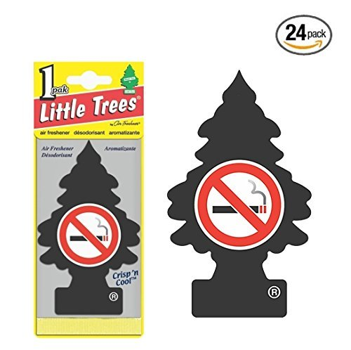 Price comparison product image Little Trees® Car Air Fresheners No Smoking Scent (24 Pack) Size: Pack of 24 No Smoking, Model: , Outdoor&Repair Store
