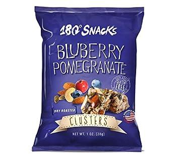 180 Snacks Blueberry Pomegranate Clusters 1 oz .- Box of 10