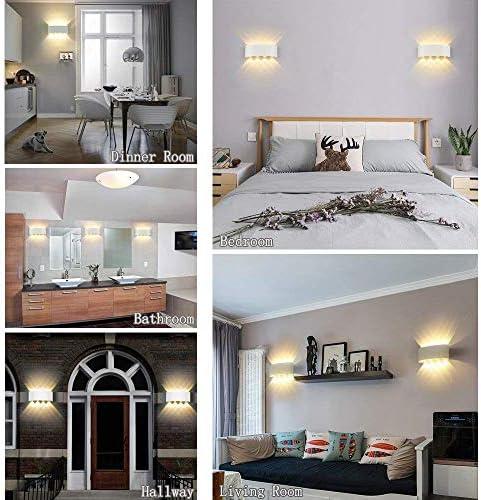ZWMM Wandleuchte Aussen Led Aussenleuchten Wasserdicht Moderne Wandleuchte 8W Up Down Wandleuchte Aluminium LED Wasserdicht für Wohnzimmer Schlafzimmer Flur