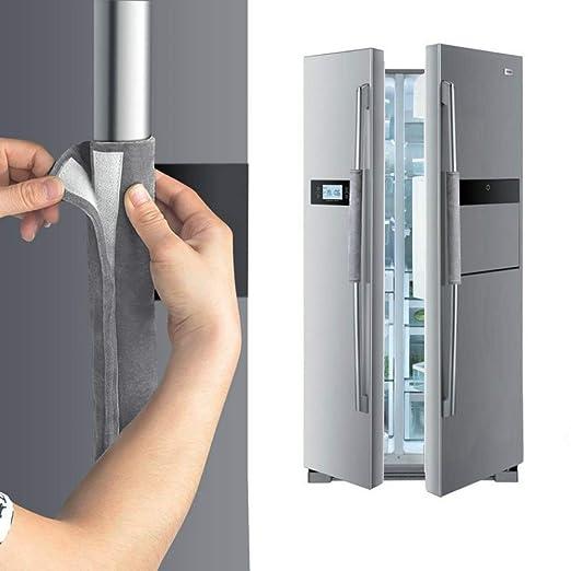 EFINNY Refrigerador Cubierta de la manija de la Puerta Cocina Aparatos de decoraci/ón Manijas Protector Antideslizante Guantes para el Horno del refrigerador Evite Las Huellas Dactilares