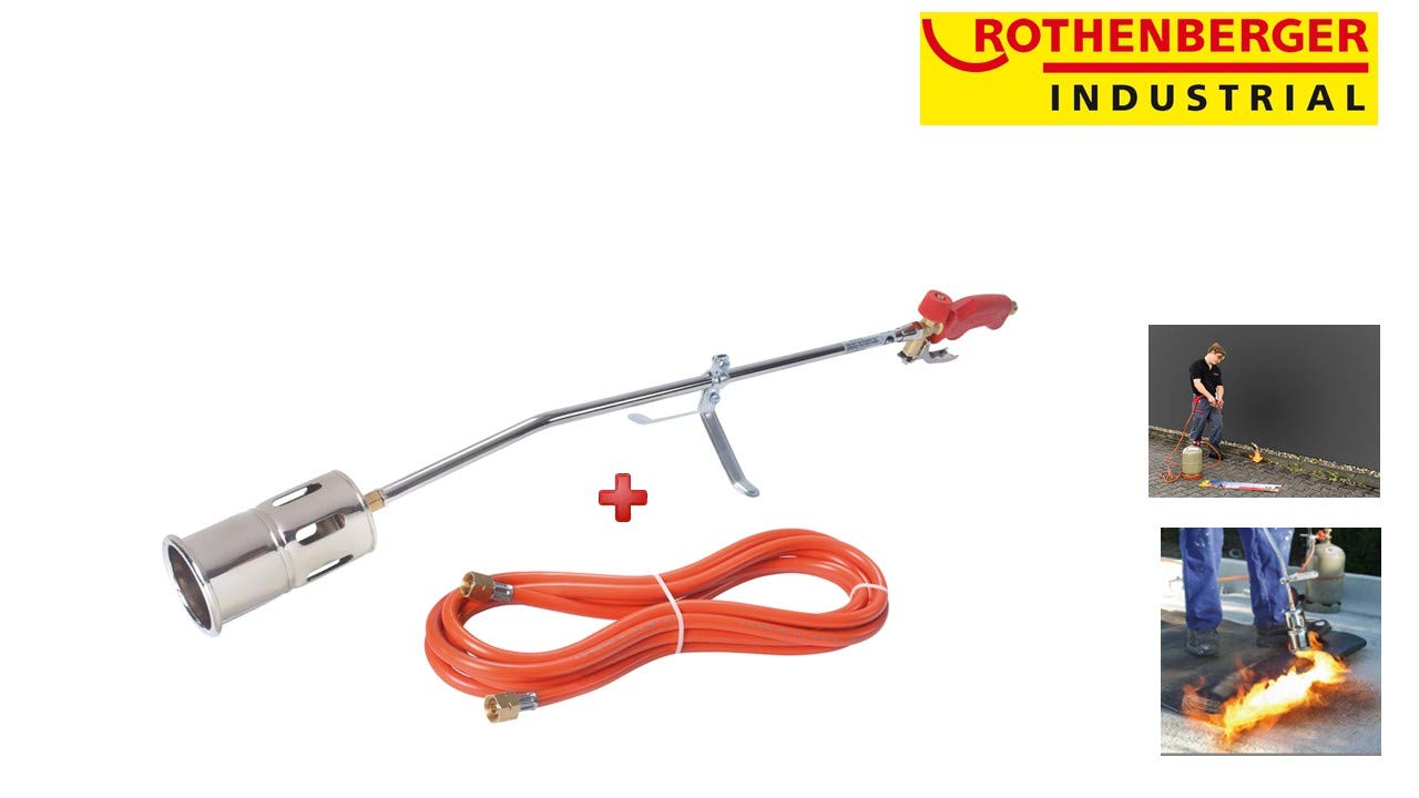 Rothenberger 30954 Roofers Propane Torch Kit with 5m Hose Rothenberger UK