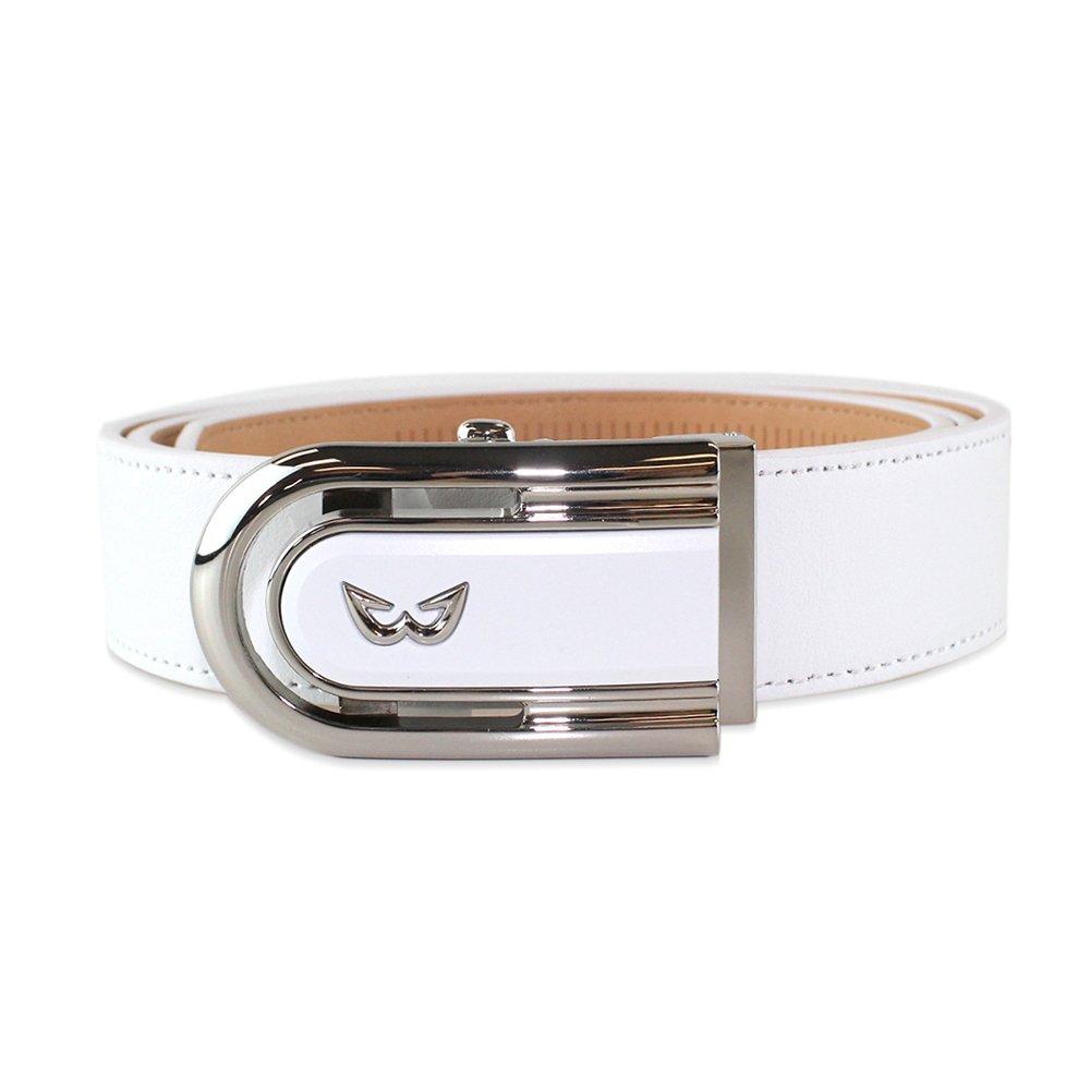 The White Ball Sports ZenR Leather Belt