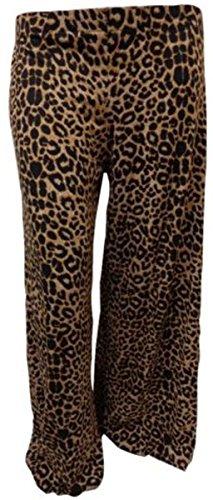 21FASHION - Pantalón - para mujer Brown Leopard