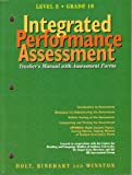 Intregrated Performance Assessment Teacher's Manual with Assessment Forms, Farr, 0030951038