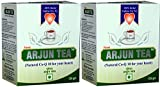 Arjun Tea (Natural Co-Q 10 for your heart) - 2 boxes (each 125g) - Ayurvedic remedy by Planet Ayurveda (in USA)