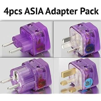 Amazon Com High Quality Ac Power Travel Adapter Plug For Europe Greece Spain Portugal Croatia