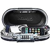 Master Lock Safe Space Mini coffre nomade Fermeture à combinaison Noir 24 cm