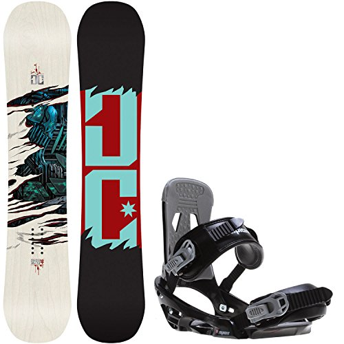 DC Media Blitz 146cm Mens Snowboard + Sapient Stash Bindings - Fits US Mens Boots Sized: 8,9,10.