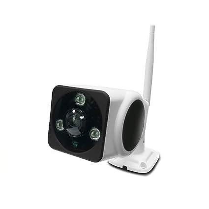 PUWEN Cámara panorámica WiFi 360 - Cámaras de vigilancia HD 960P HD con visión gran angular