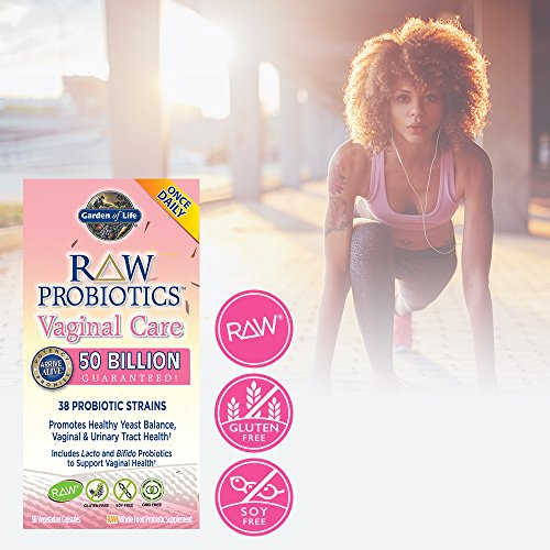 Garden Of Life Raw Probiotics Women 39 S Vaginal Care Acidophilus Probiotic Promotes Yeast