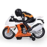 UMKYTOYS Bump And Go Toy Motorbike With Light And Sound Toys For 3 Year Olds Boys Best Gift For Kids