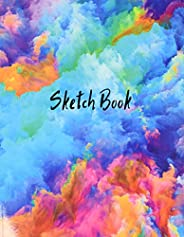 Sketch Book: Notebook for Drawing, Writing, Painting, Sketching or Doodling, 120 Pages, 8.5x11 (Premium Abstra