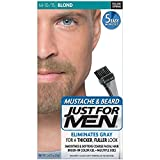 JUST FOR MEN Mustache & Beard Brush-In Color Gel, Blond M-10/15 1 Each (Pack of 12)