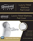 Beautyrest Black Luxury Fitted Crib Mattress Pad