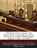 Crs Report for Congress, Maggie McCarty and Bruce Foote, 1289866910