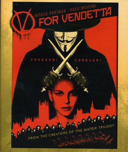 Blu-ray : V For Vendetta (, Dubbed, Dolby, AC-3, Widescreen)