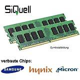 4GB (2 x 2GB) DDR2 800MHz (PC2 6400U) LO Dimm Computer PC Desktop Arbeitsspeicher RAM Memory Samsung Hynix Micron