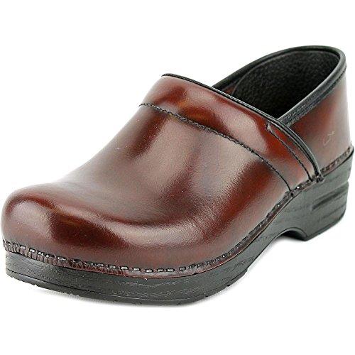 Dansko Women's Professional Pro Cabrio Leather Clog,Cordovan,41 EU / 10.5-11 B(M) US by Dansko