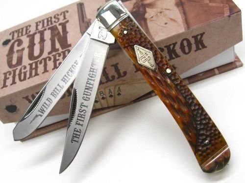 New ROUGH RIDER Honey Comb TRAPPER Stainless 2 Blade Folding Pocket ProTactical'US - Limited Edition - Elite Knife with Sharp Blade ! OSB1599