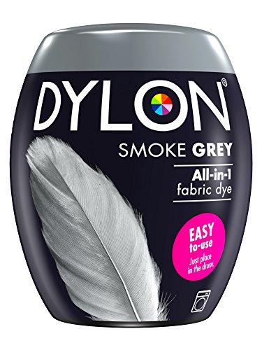Fabric Dye Art (Dylon Machine Dye 350g 65 Smoke Grey)