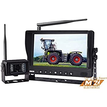 Amazon Com Digital Wireless Rear View Backup Camera
