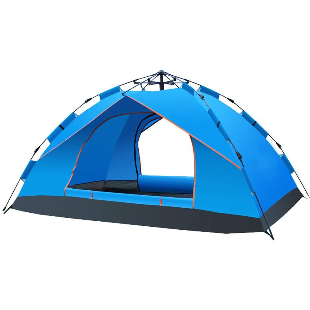 テント - 完全自動春の雨屋外の旅行レジャーピクニックキャンプテント アウトドア製品  青 B019OI2I8A