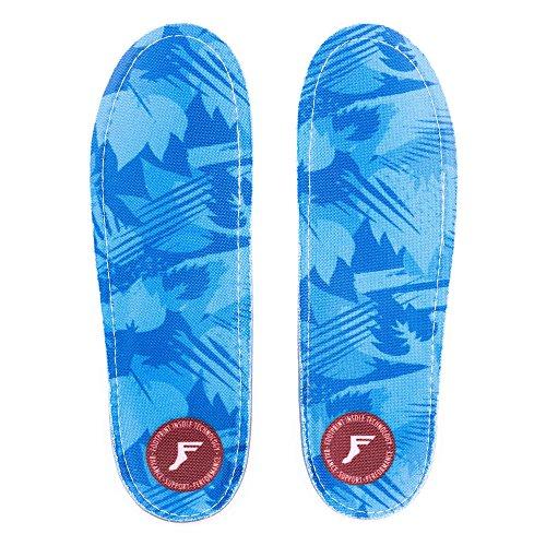 Footprint Kingfoam Orthotic Low Profile Blue Camo Skateboard Impact Insoles UK 6-11 blue znMIiVb