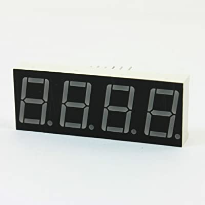 """Water & Wood DIY Project Red LED 4 Digits 12Pin 0.56"""" Display"""