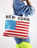 10STAR11 Women's Unique Multipurpose Durable Tote Canvas Bag (Zippered)
