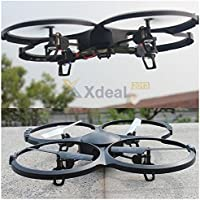 New UDI U818A 2.4GHz 4 CH 6 Axis Gyro RC Quadcopter Drone with Camera RTF Mode 2 Remote Control Toys Parts