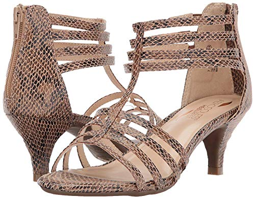 - Aerosoles Women's Limeade Dress Sandal, Bronze Snake, 6 M US